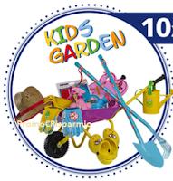 Logo Gioca e vinci gratis 10 set da giardino per bambini