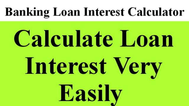 Banking Loan Interest Calculator