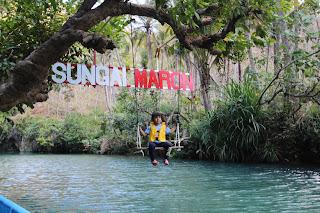 wisata sungai maron pacitan