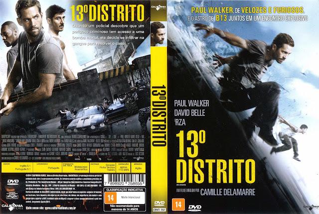 Capa DVD 13º DISTRITO