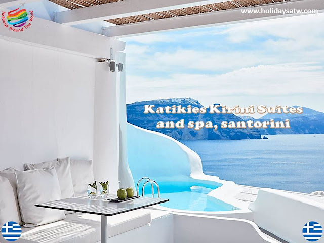 Recommended 5 star hotels in Santorini