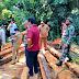 Peninjauan Lokasi Penebangan Kayu yang Bermasalah di Desa Paccerakang