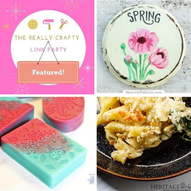 The Really Crafty Link Party #262 featured posts