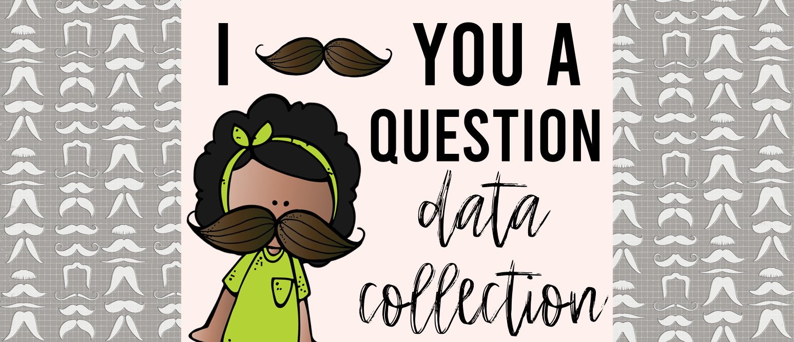 Data Collection and Graphing math activities for Kindergarten & First Grade