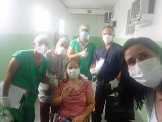 Secretária de Assistência Social de Picuí se recupera da Covid 19 e recebe alta médica