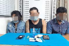Niatnya Mau Pesta Sabu, 2 Pria dan Seorang Wanita Ditangkap Polisi
