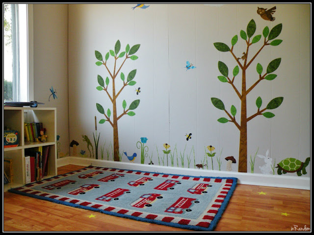forest friends wall decals