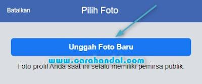 Cara Mengganti Foto Profil Facebook di HP