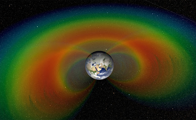 Invisible but Mighty Particles above the Earth Come into Focus