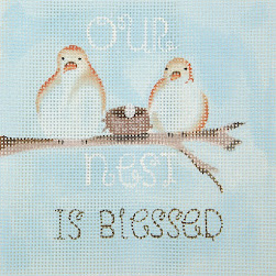 PAINTED CANVAS OF THE DAY from OASIS NEEDLEPOINT