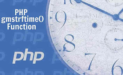 PHP gmstrftime() Function