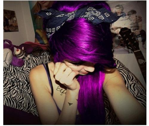 Awe Inspiring Black Amp Purple Hairstyles A Gorgeous Combination Short Hairstyles Gunalazisus