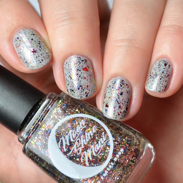 fall multichrome flakie nail polish