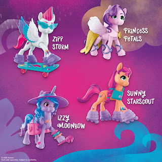 My Little Pony: A New Generation Movie Crystal Adventure Sunny Starscout
