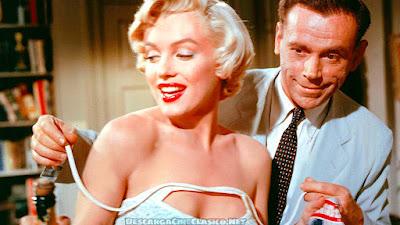 La tentación vive arriba (1955) The Seven Year Itch - Tom Ewell y Marilyn Monroe