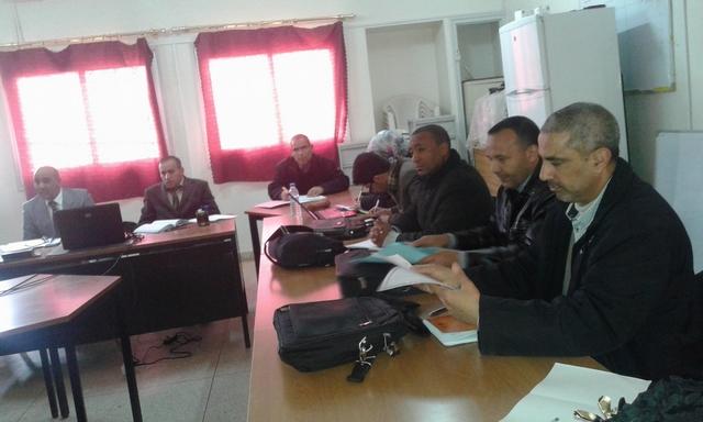 مديرية فجيج تحتضن اللقاء الاقليمي الخاص بملتقيات التفتيش