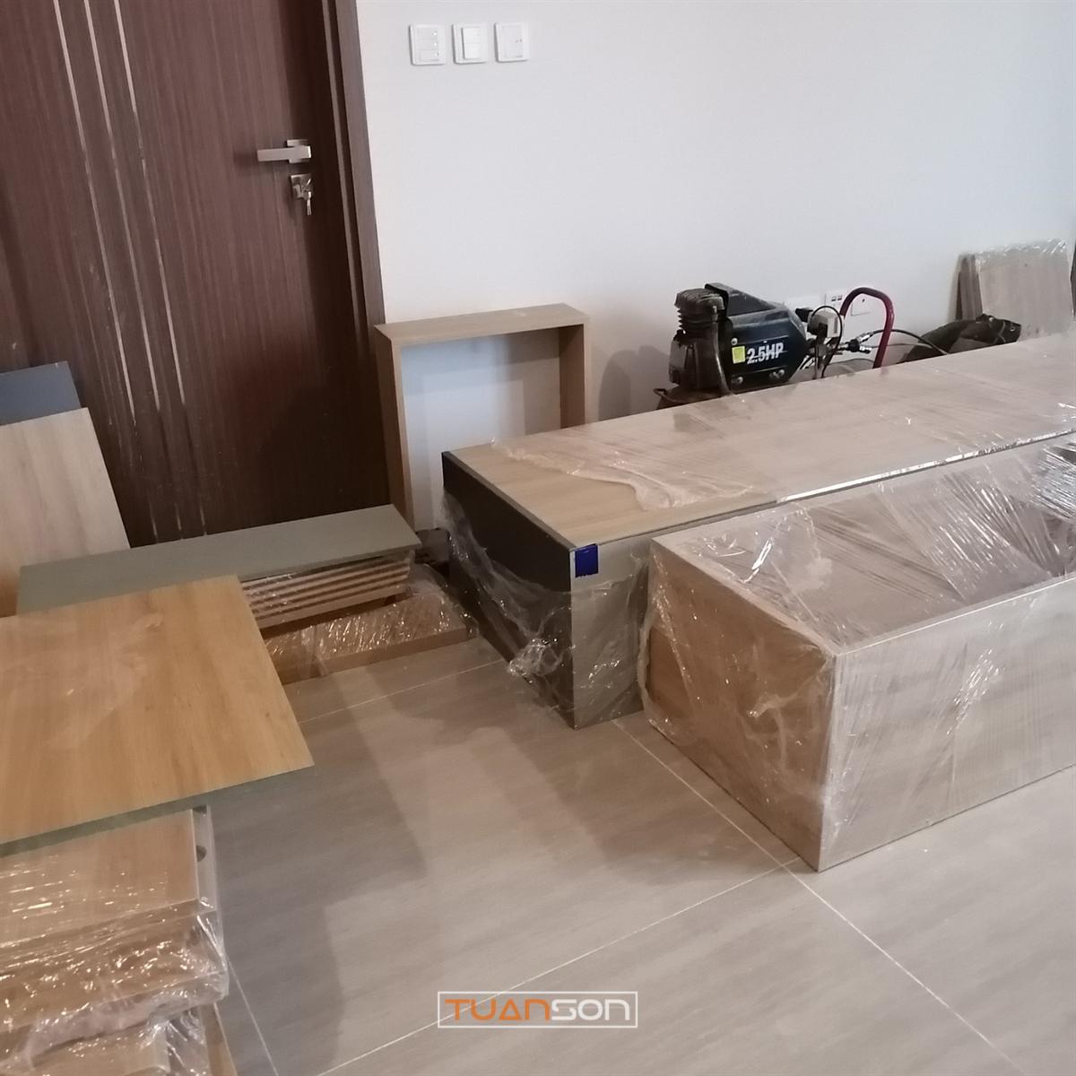 Chuẩn bị hạng mục thi công căn hộ 3 phòng ngủ tòa L5 The Link - Ciputra Hà Nội