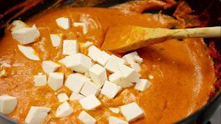 recipe butter paneer masala