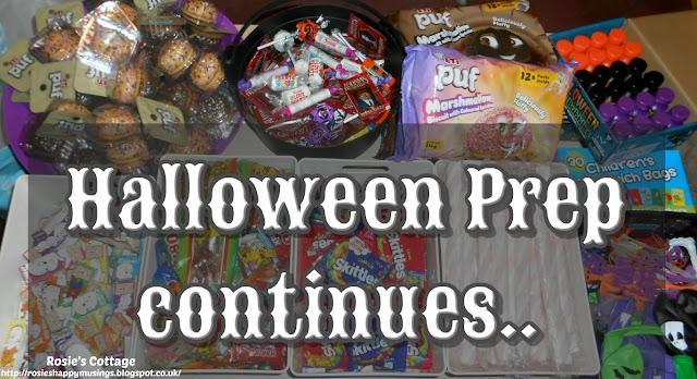 Halloween Prep Continues...