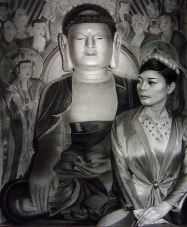 Черно-белые картины. Minh Hang 12