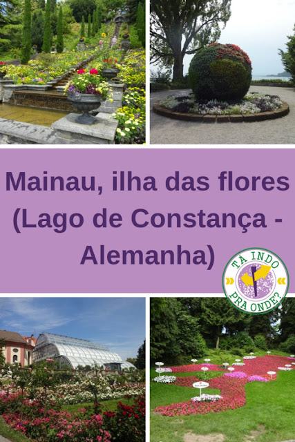 Conhecendo Mainau, a ilha das flores no Lago de Constança (Alemanha)