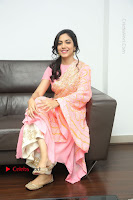Actress Ritu Varma Pos in Beautiful Pink Anarkali Dress at at Keshava Movie Interview .COM 0287.JPG