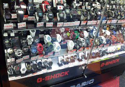 G-Shock Murah Yodobashi Ueno Tokyo