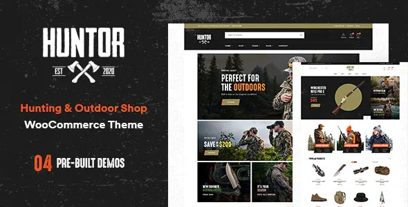Best Hunting & Outdoor Shop WooCommerce Theme