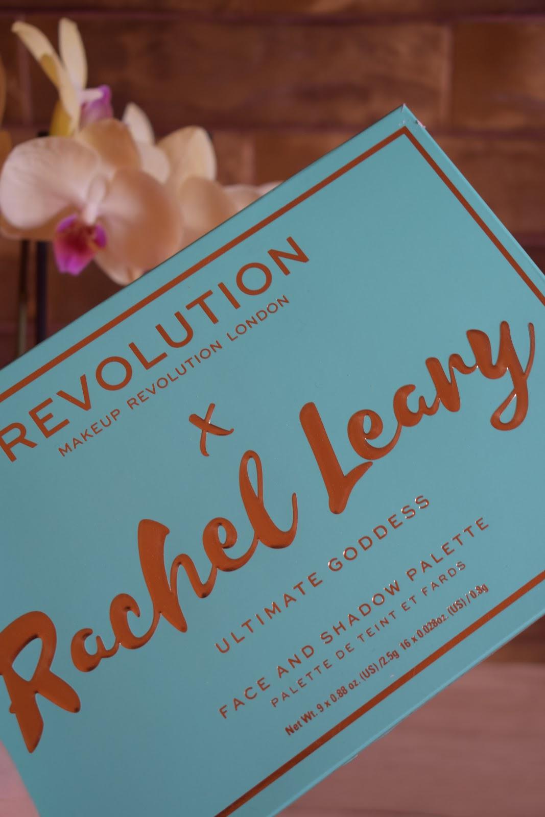 makeup revolution x rachel leary ultimate goddess *Recenzja*