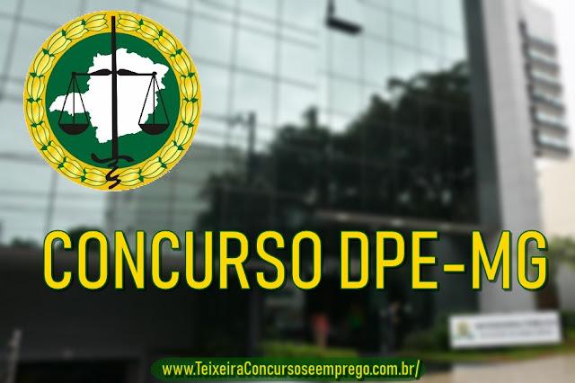 Edital concurso DPE-MG: com 30 vagas para defensor pública