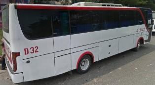 Bus AJA P119 Jurusan Poris Tangerang - Kampung Melayu via Slipi, Pancoran, Komdak