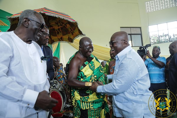 """""""1,190 Vehicles Being Supplied; 962 Structures Being Built For SHS"""" – President Akufo-Addo"""