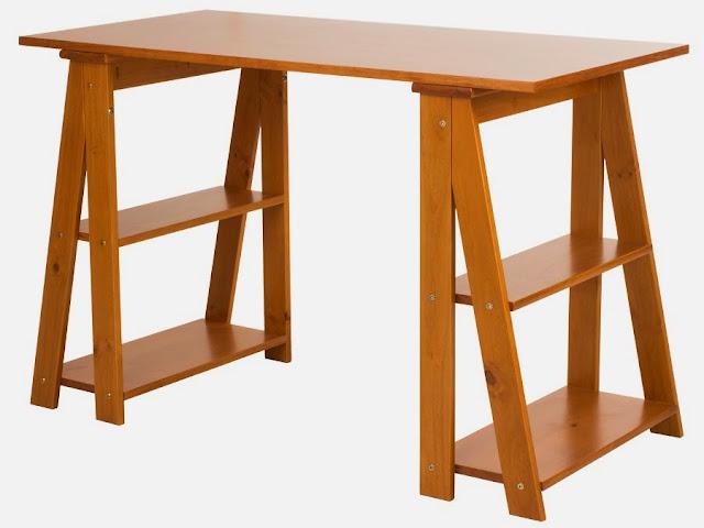 Escrivaninha com cavaletes