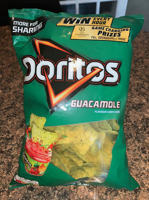 Fried Green Doritos – Doritos Guacamole Flavour