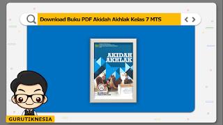 download ebook pdf  buku digital akidah akhlak kelas 7 mts