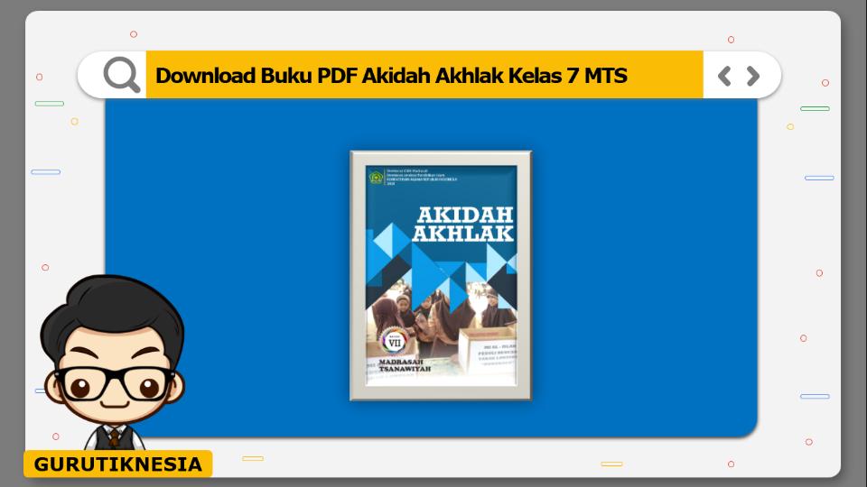 download buku pdf akidah akhlak kelas 7 mts