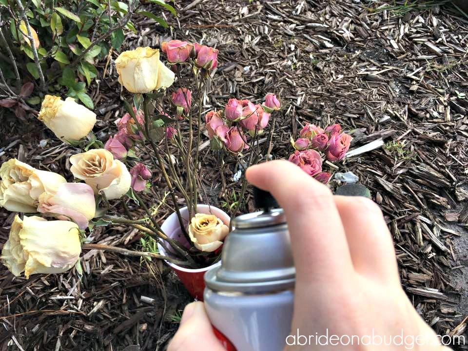 Diy Wedding Flowers Shadowbox A Bride On A Budget