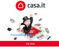 Logo Vinci anche tu gratis con Casa. IT uno dei 5000 Monopoly in palio