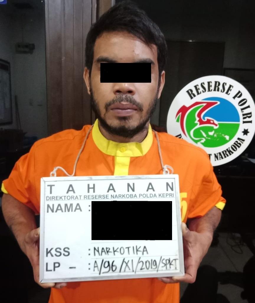Dit Resnarkoba Polda Kepri Ungkap 3 Pelaku Kasus Narkotika Jenis Sabu