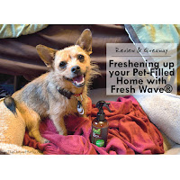 Review & Giveaway: Freshening up your Pet-Filled Home with Fresh Wave®