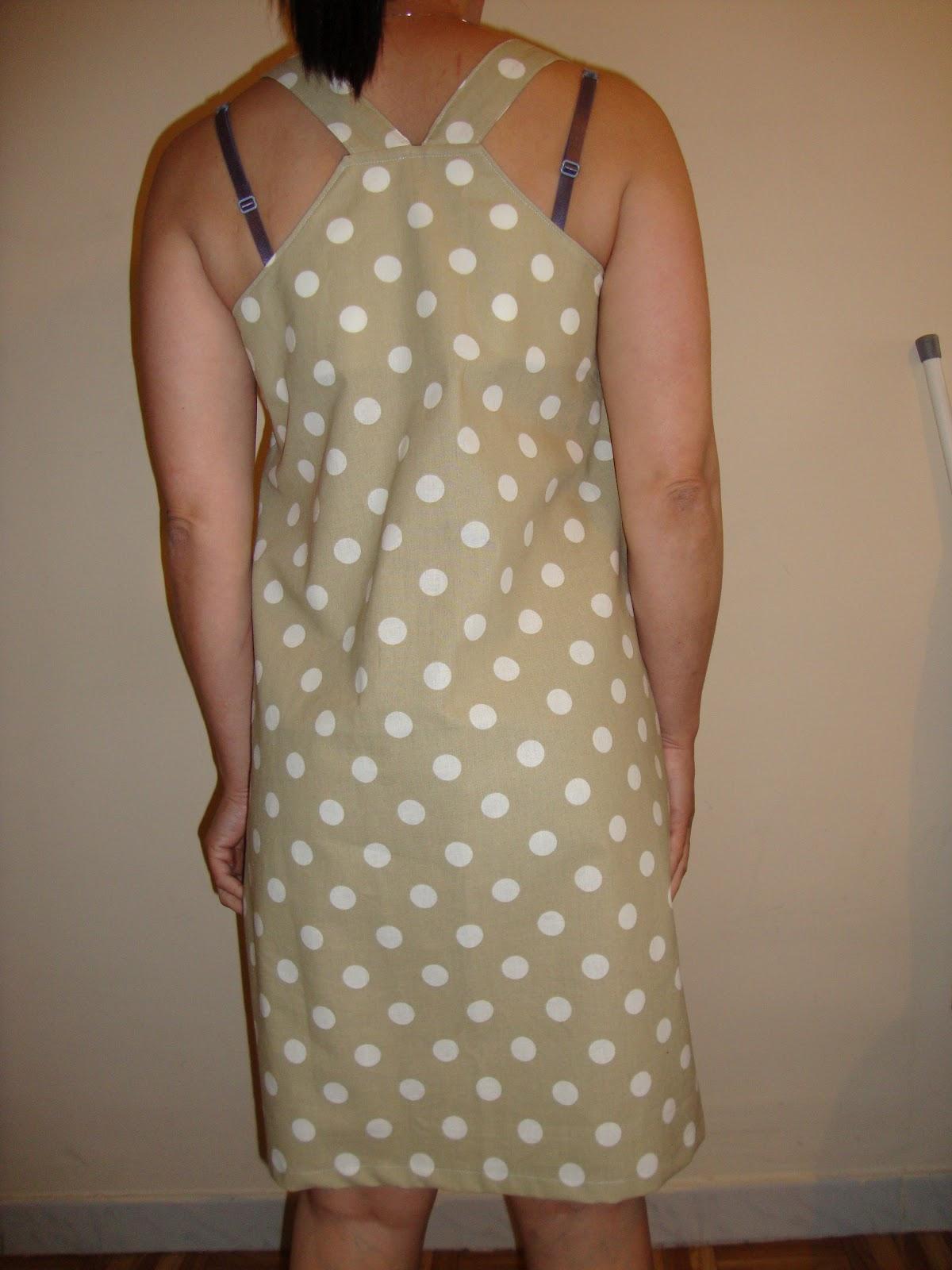 Cerises Grises: Robe-tablier