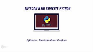 (42 Saat) Python : Sıfırdan İleri Seviye Programlama (2019