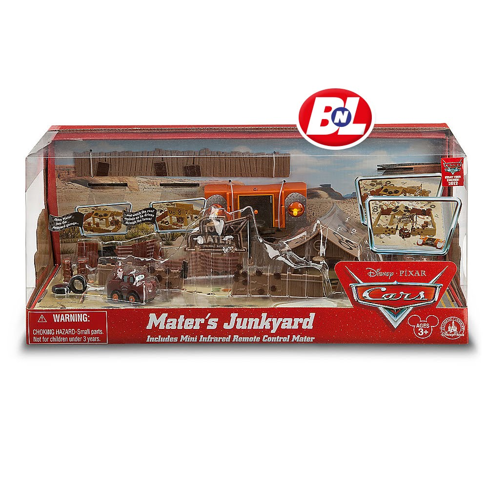 Welcome On Buy N Large Cars Mater S Junkyard Play Set
