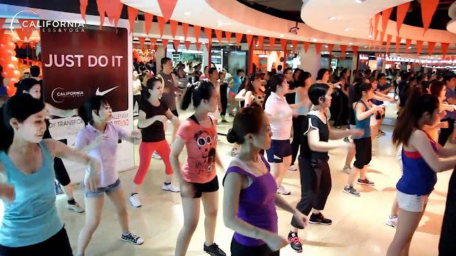 Review Khóa Học Nhảy Zumba Tại California Fitness Quận 5