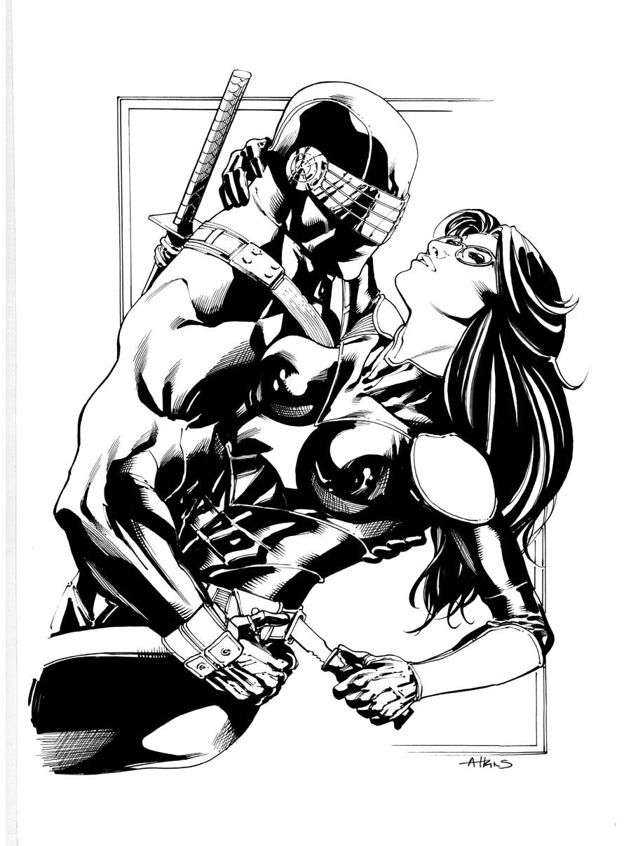 Robert Atkins Art: Snake Eyes.smooth as a ninja