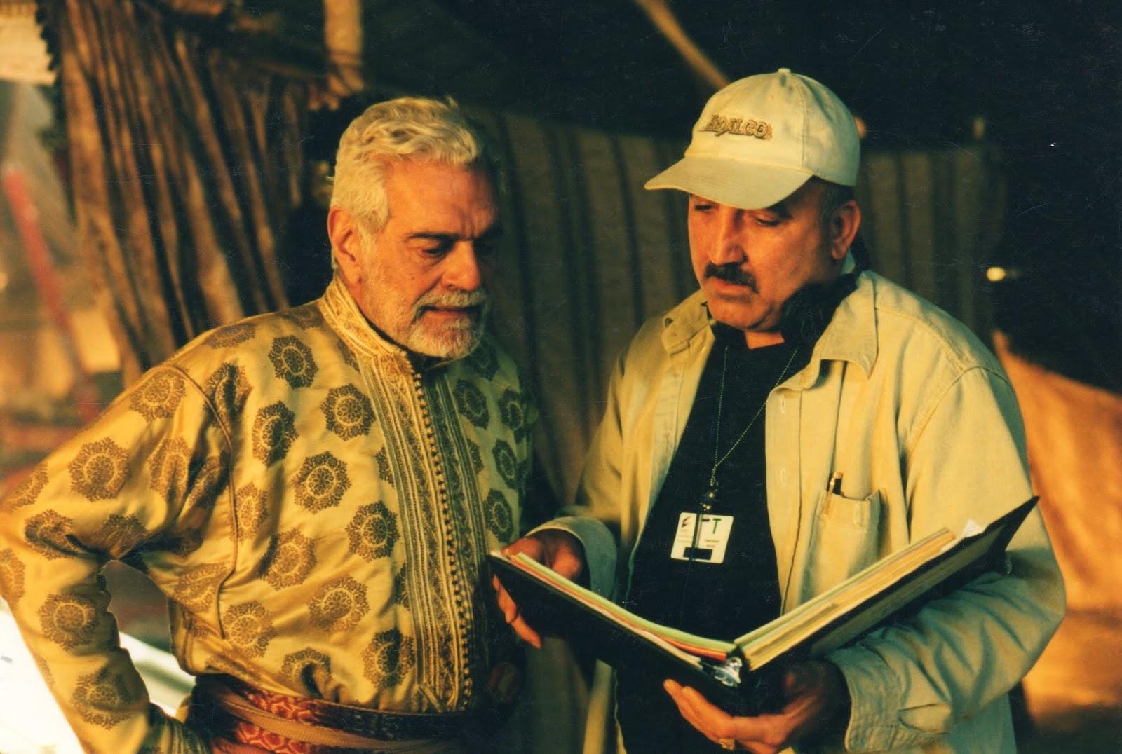 With Omar Sharif