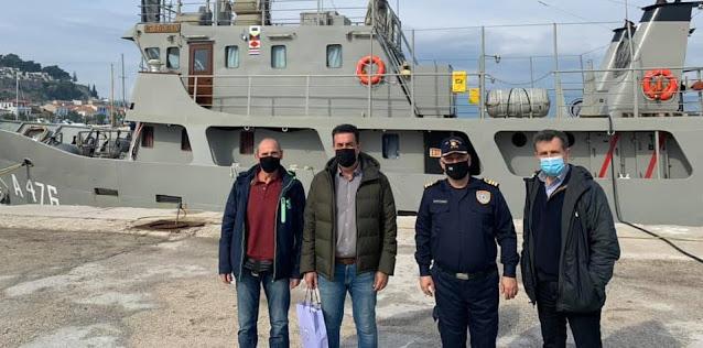 Ολοκληρώθηκε η χαρτογράφηση της εκβάθυνσης στο λιμάνι του Ναυπλίου