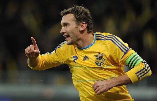 Andriy Shevchenko là chân sút vàng của Milan.