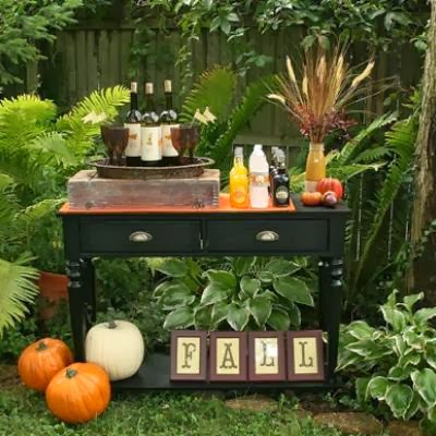 fall harvest decorations outdoors my enchanting cottage garden 10 fabulous fall party ideas  my enchanting cottage garden 10