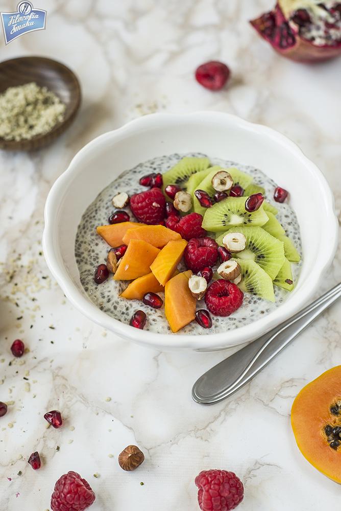 Śniadanie z chia przepisy